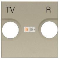 Розетка TV-R без фильтра ZENIT (шампань) 8150 - N2250.8 CV