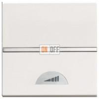 Светорегулятор клавишный 40-500Вт ZENIT (Белый) N2260 BL