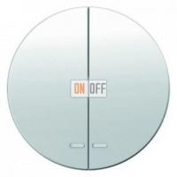 Выключатель двухклавишный с подсветкой, 10 А / 250 В~ 3035 - 16272089 - 1675