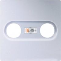 Розетка TV-FM проходная Eco Profi , алюминий S2900-10 - EP561BFPLTVAL