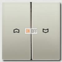 Выключатель управления жалюзи кнопочный, 10 А / 250 В~ 539VU - es2995p