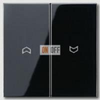 Выключатель управления жалюзи кнопочный, 10 А / 250 В~ 539VU - LS995PSW