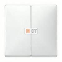 Выключатель двухклавишный, 10 А / 250 В~ MTN3115-0000 - MTN412519