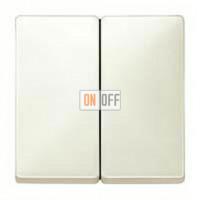 Выключатель двухклавишный, 10 А / 250 В~ MTN3115-0000 - MTN412544