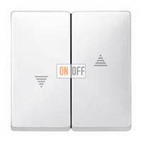 Выключатель управления жалюзи клавишный, 10 А / 250 В~ MTN3715-0000 - MTN411519