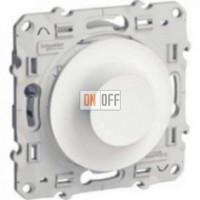 Светорегулятор поворотный универсальный 20-420 ВА Schneider Odace белый S52R515