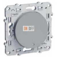 1-клавишный переключатель с LED  Schneider Odace алюминий S53R263 - S52R291