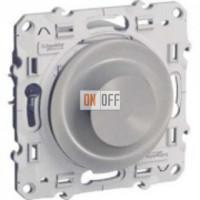 Светорегулятор поворотный универсальный 20-420 ВА  Schneider Odace алюминий S53R515