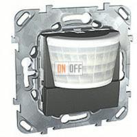 Автоматический выключатель 230 В~ , 40-300Вт, двухпроводное подключение, высота монтажа 1,1м Schneider Unica графит MGU5.524.12ZD