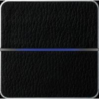 Basalte 203-13 Enzo лицевая панель 2 - клавишная - black leather