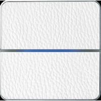 Basalte 203-14 Enzo лицевая панель 2 - клавишная - white leather