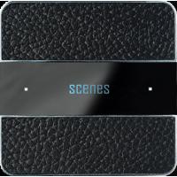Basalte 301-13 Deseo лицевая панель - black leather